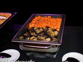Gebakken worteltjes en aubergine