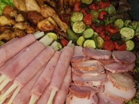 Koude vleesbuffet (spiegelbuffet)